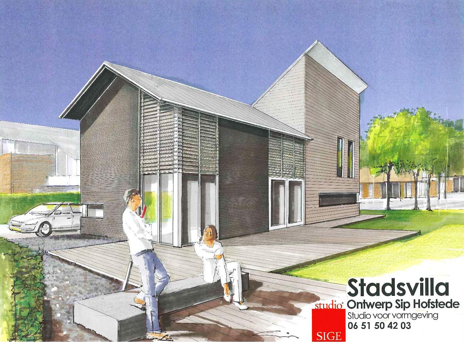 Sip hofstede exterieur bouwkundig ontwerpen - Tuin ontwerp exterieur ontwerp ...
