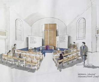 Immanuelkerk interieur ontwerp Baflo-1