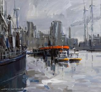 Eemshaven Groningen Seaports 2013 60x80cm