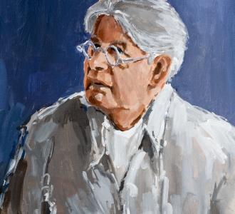 Schilderij Zelfportret Sip Hofstede