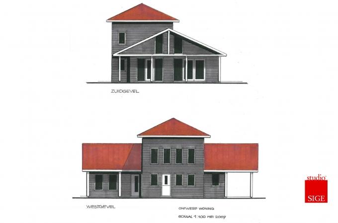Ontwerp woonhuis Basse 2007