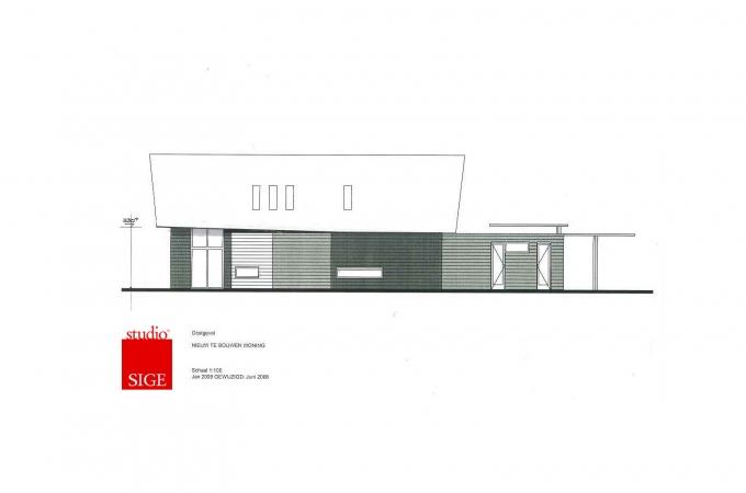 Ontwerp woonhuis Burgh Haamstede 2008