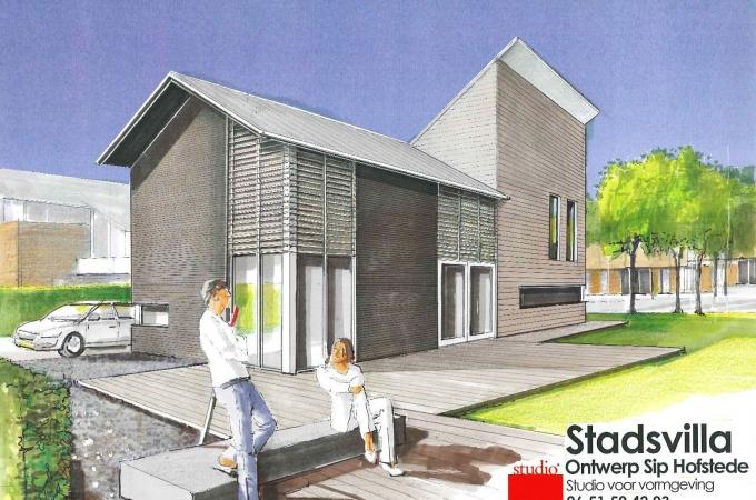 Ontwerp woonhuis Groningen