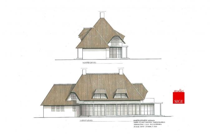 Ontwerp landhuis Rietlanden - Slochteren 2010