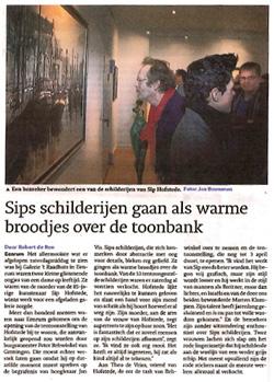 Artikel expositie Eenrum 2011 Sip Hofstede