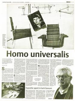 artikel homo universalis Dagblad het Noorden