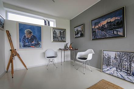 Sip Hofstede galerie in huis