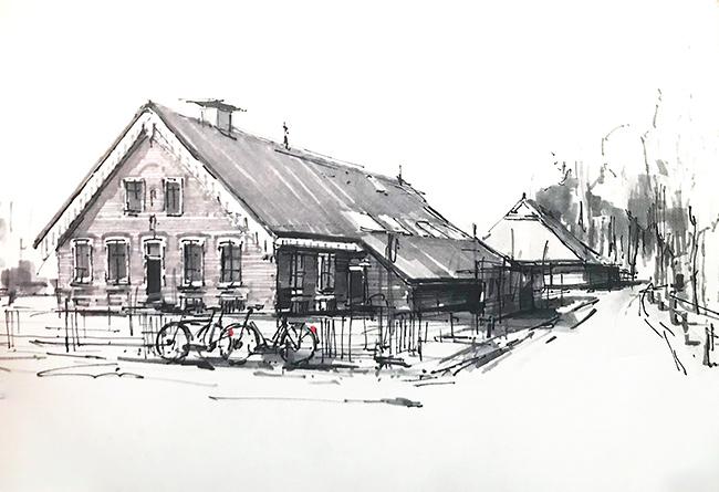 Verhuiskaart Sip Hofstede Glimmen 2018